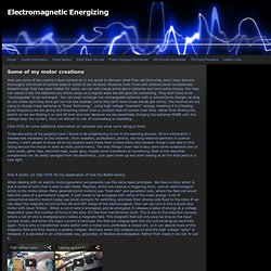 Pulse Motors - Electromagnetic Energizing