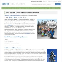 The Longterm Effects of ElectroMagnetic Radiation