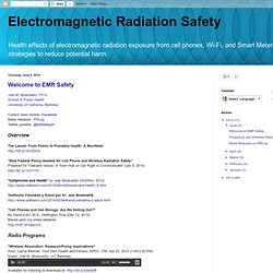 Electromagnetic Radiation Safety: June 2014