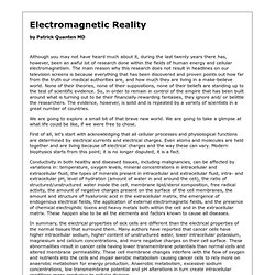 Electromagnetic Reality