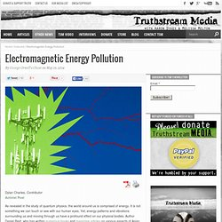 Electromagnetic Energy Pollution