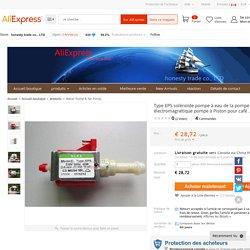 Acheter Type EP5 solénoïde pompe à eau de la pompe pompe électromagnétique pompe à Piston pour café ... de pompe hub fiable fournisseurs sur honesty trade co., LTD