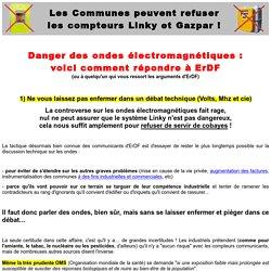 Danger des ondes électromagnétiques : voici comment répondre à ErDF