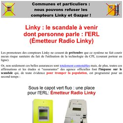 Ondes électromagnétiques : le scandale de l'Emmeteur Radio linky