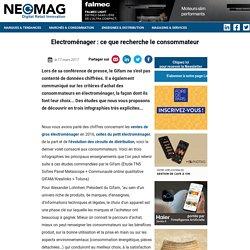 Document 12 : les attentes des consommateurs pour l'électroménager