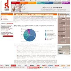 Marché du petit électroménager - Groupe SEB France et international