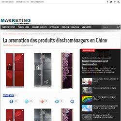 La promotion des produits électroménagers en Chine
