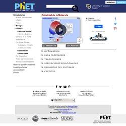 Electronegatividad - Simulaciones Interactivas de PhET
