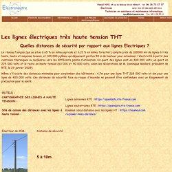 Electroneutre : Les lignes électriques très haute tension THT