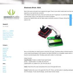 Electronic Brick : BUS