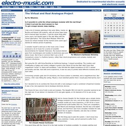 Electronic Music - community forum, news, reviews, calendar, CDs