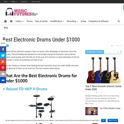 Best Electronic Drums Under $1000