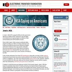 Jewel v. NSA