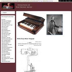 Electronic Music History - 1876 Musical Telegraph