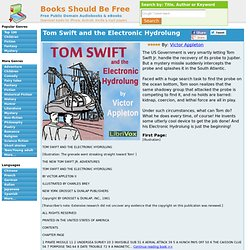 Tom Swift and the Electronic Hydrolung by Victor Appleton