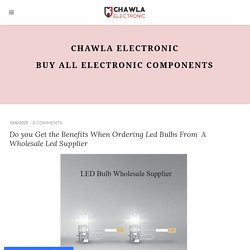 Chawla Electronic component - Industrial electronic component suppliers - Chawla electronic