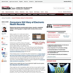 Electronic health records essay