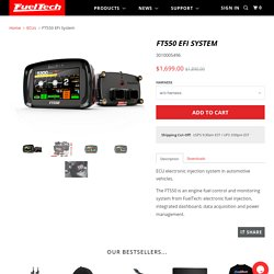 FuelTech FT550 EFI System. Electronic Fuel Injection - ECU & Dashboard! - FuelTech USA
