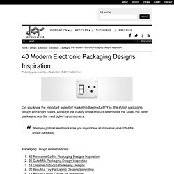 40 Modern Electronic Packaging Designs Inspiration