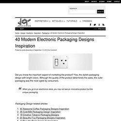 40 Modern Electronic Packaging Designs Inspiration