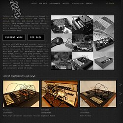 Custom Electronic Instruments | Folktek
