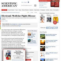 Electronic Medicine Fights Disease