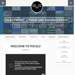 Electronic Literature Organization