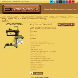 COBRA Class 4 Heavy Duty Leather Stitcher