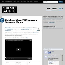 Next Step Audio | Electronic music production tutorials by Trifo