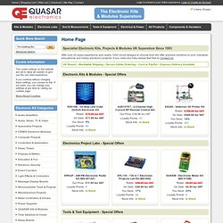 Quasar Electronic Kit Module Project UK: Industrial Educational Hobby