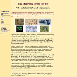 Electronic Sound-House