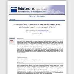 Edutec-e. Revista Electrónica de Tecnología Educativa.