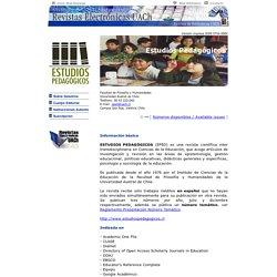 Revistas Electrónicas UACh - Estudios Pedagógicos - Sobre Nosotros