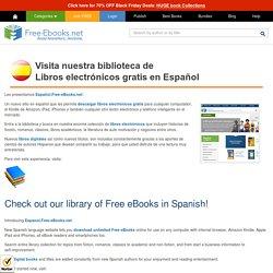Libros Electrónicos Gratis en Español - Free Spanish eBooks.