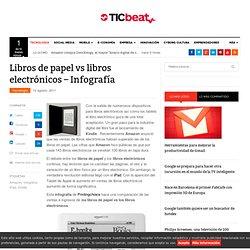 Libros de papel vs libros electrónicos – Infografía