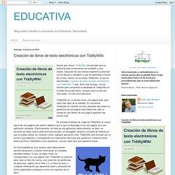 Creación de libros de texto electrónicos con TiddlyWiki