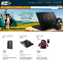 Newegg.ca - Computer Parts, PC Components, Laptop Computers, Digital Cameras and more!
