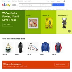 eBay - New & used electronics, cars, apparel, collectibles, sporting goods & more at low prices