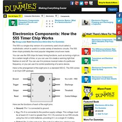 Electronics Components: How the 555 Timer Chip Works