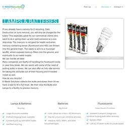 fluorescent tube disposal