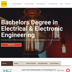 Degree in Electronics Engineering