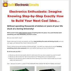 How to create whatever electronics project you want, FAST!