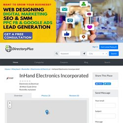 InHand Electronics Incorporated - Business Directory Online