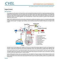 Clemson Vehicular Electronics Laboratory: Engine Control