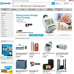 Conrad Electronic SE - Your Online Shop for Multimedia, Computers, Cars, Components, Modelling, Batteries & Tools