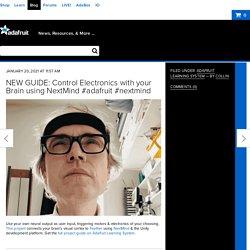 NEW GUIDE: Control Electronics with your Brain using NextMind #adafruit #nextmind