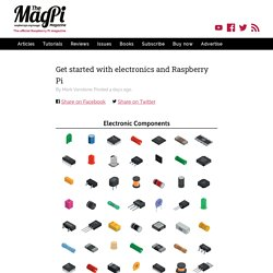 Get started with electronics and Raspberry Pi — The MagPi magazine