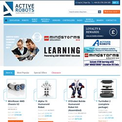 Active Robots - Robot Kits and Educational Robotics Resources - UK