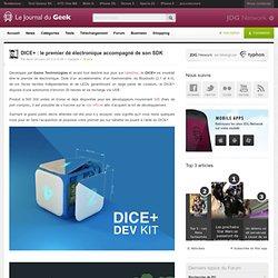DICE+ : le premier dé électronique accompagné de son SDK