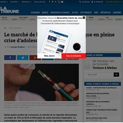 Le marché de la cigarette électronique en pleine crise d'adolescence